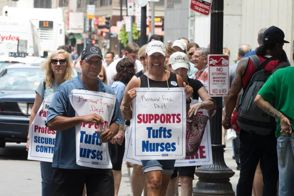 Tufts Nurses Strike