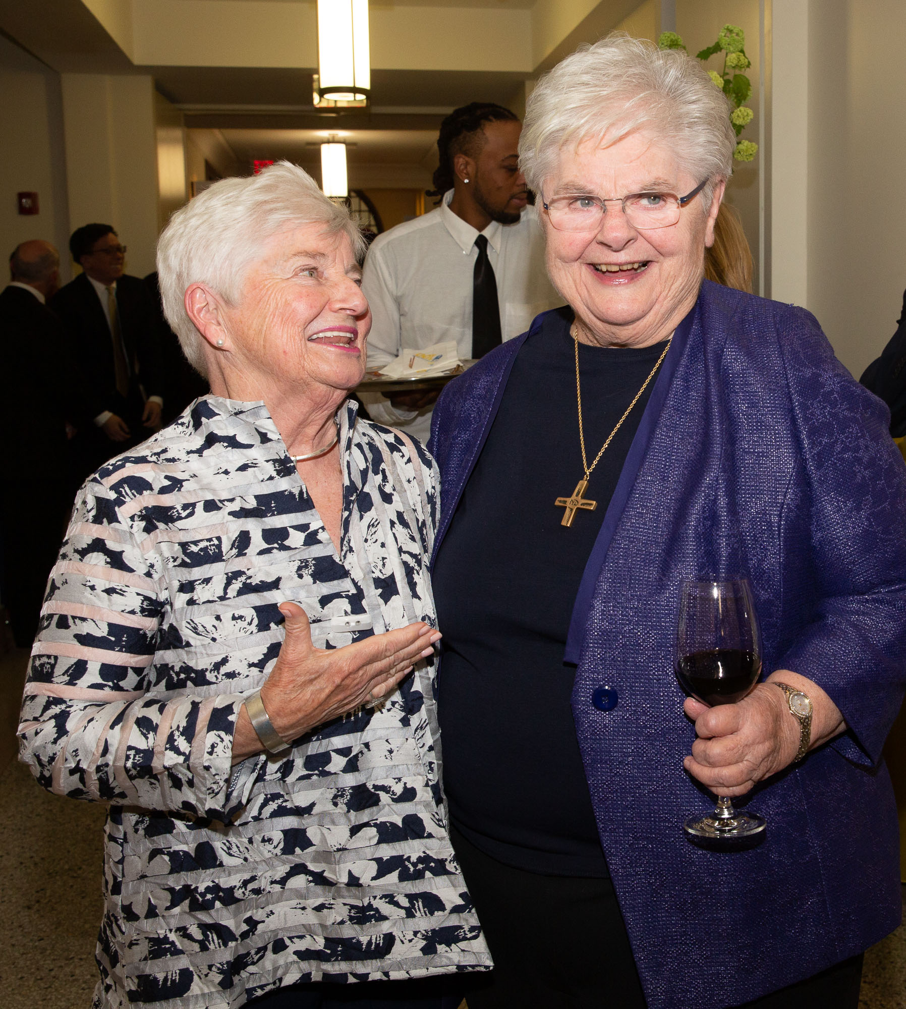 Emmanuel College honors Sister Janet Eisner for her 40 years